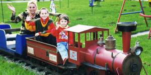 Foto Elektroeisenbahn