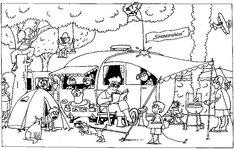 Malwettbewerb | Camping Paradies Sonnenwiese